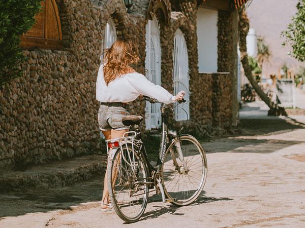 Вело прогулка знакомство с Дахабом