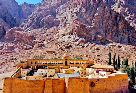 Монастырь св. Екатерины и гора Моисея